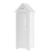 Bílý šatní skříň Pinio Marseille