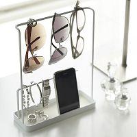 Bílý stojánek na brýle a šperky YAMAZAKI Tower