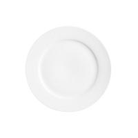 Bílý talíř na salát Price&Kensington Simplicity,Ø23cm