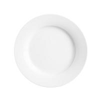 Bílý talíř Price&Kensington Simplicity,Ø27cm