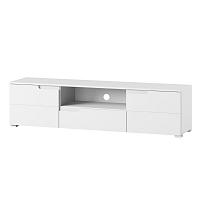 Bílý TV stolek Szynaka Meble Original