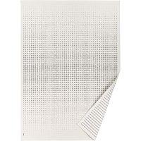 Bílý vzorovaný oboustranný koberec Narma Helme, 70x140cm