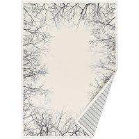 Bílý vzorovaný oboustranný koberec Narma Puise, 160x230cm