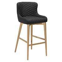 Černá barová židle DAN-FORM Denmark Vetro