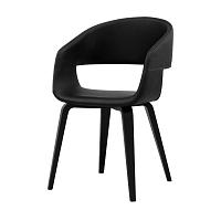 Černá jídelní židle Interstil Nova Poplar
