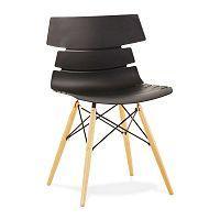 Černá jídelní židle Kokoon Strata