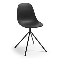 Černá jídelní židle La Forma Mint