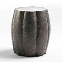Černá kovová stolička Thai Natura Pathum