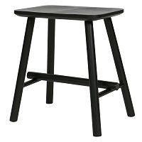 Černá stolička De Eekhoorn Butt