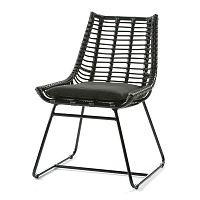 Černá židle Thai Natura Angular