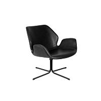 Černá židle Zuiver Nikki