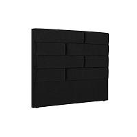 Černé čelo postele Cosmopolitan New York, šířka 140cm