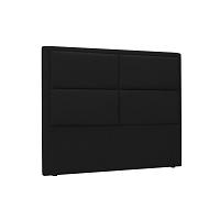Černé čelo postele HARPER MAISON Gala, 180 x 120 cm