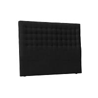Černé čelo postele Windsor & Co Sofas Nova, 160 x 120 cm