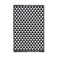 Černobílý oboustranný koberec Homedebleu Apollon, 140 x 215 cm
