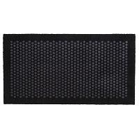 Černošedá rohožka Tica Copenhagen Dot, 67x120cm