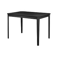 Černý jídelní stůl Støraa Trento, 76x110cm