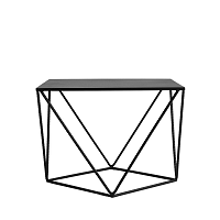 Černý konferenční stolek Custom Form Daryl, délka55cm