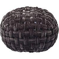 Černý puf Kare Design Olivio