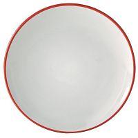 Červený dezertní talíř Price&Kensington Cosmos,20cm