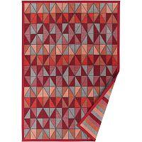 Červený vzorovaný oboustranný koberec Narma Treski, 160x230cm
