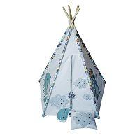 Chlapecké pětiúhelníkové teepee VIGVAM Design Cute Tribe
