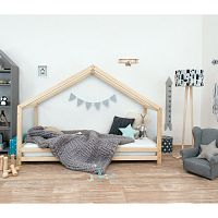 Dětská postel z lakovaného smrkového dřeva Benlemi Sidy, 80 x 160 cm