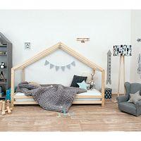 Dětská postel z přírodního smrkového dřeva Benlemi Sidy, 120 x 160 cm