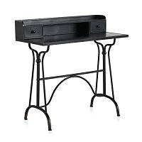 Dětský černý kovový pracovní stůl Geese Gerome