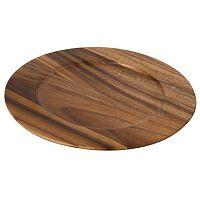 Dřevěné prkénko  z akáciového dřeva T&G Woodware Tuscany, ⌀ 30 cm