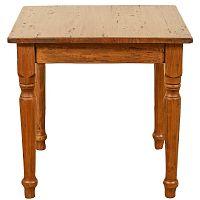 Dřevěný jídelní stůl Biscottini Feast, 90 x 90 cm