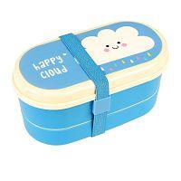 Dvoupatrová krabička na svačinu Rex London Happy Cloud