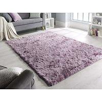 Fialový koberec Flair Rugs Shadow, 160 x 220 cm