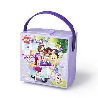 Fialový úložný box s rukojetí LEGO® Friends