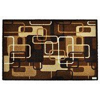 Hnědá rohožka Zala Living Design Retro Brown, 120 x 200 cm