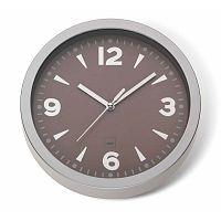 Hnědé nástěnné hodiny Kela Stockolm, ø20cm