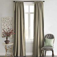 Hnědý závěs Home De Bleu Blackout Curtain, 140x240cm