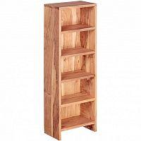 Knihovna z masivního akáciového dřeva Skyport Casia