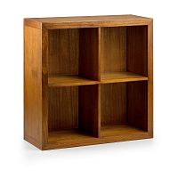 Knihovna ze dřeva mindi Moycor Star Combi