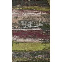 Koberec Eco Rugs Green Abstract, 200x290cm
