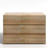 Komoda z bukového dřeva se 3 zásuvkami SKANDICA Vestre