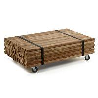 Konferenční stolek z teakového dřeva La Forma Irma