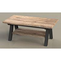 Konferenční stolek ze dřeva bílého dubu Unique Furniture Oliveto
