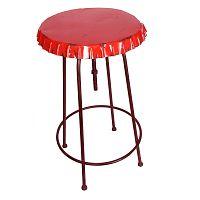 Kovový stůl Tabouret Rouge