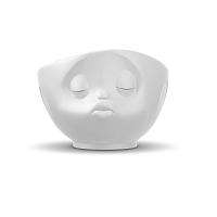 Matná bílá líbající miska 58products