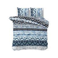 Modré povlečení Sleeptime Sweet Shibori Retro, 200 x 220 cm