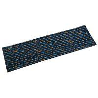 Modrý stolní běhoun Versa Blue Bay, 154x44,5 cm
