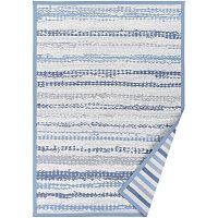Modrý vzorovaný oboustranný koberec Narma Saara, 160x230cm