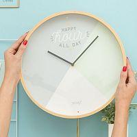Nástěnné hodiny Mr. Wonderful Happy hour all day