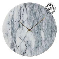 Nástěnné hodiny v efektu mramoru Kare Design Desire
